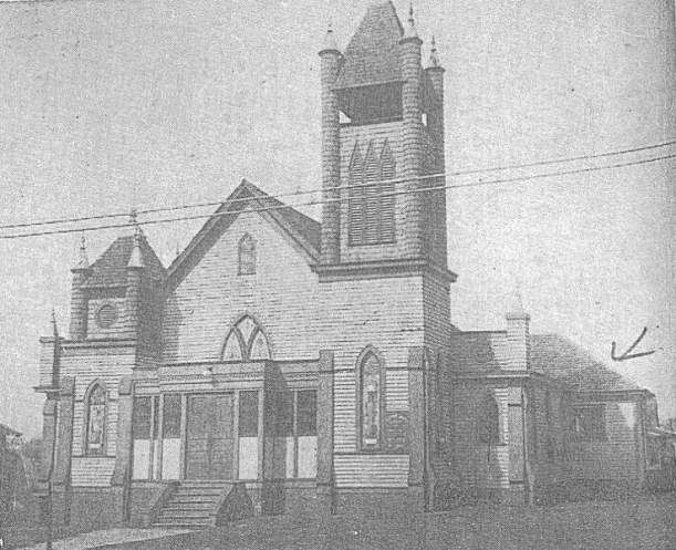 Clay Family Home Church  Kirkwood Baptist Church, 1913 Howard Street N.E. & Hardee (Delano)